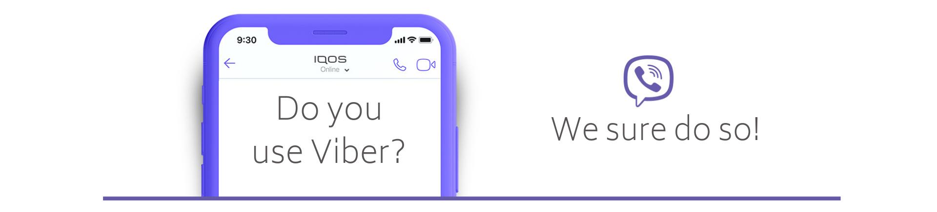 Η ομάδα του IQOS Care είναι στο Viber